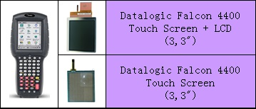 Datalogic Falcon LCD ve Touch Panel degisimi