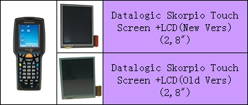 Datalogic Skorpio LCD ve Touch Panel degisimi