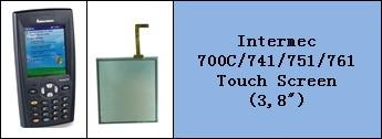 intermec 700 Serisi LCD ve Touch Panel degisimi