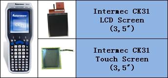 intermec CK31 LCD ve Touch Panel degisimi
