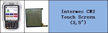 intermec CN2 Touch Panel degisimi