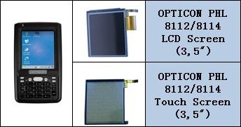 Opticon 8112 ve 8114 Lcd Ekran Ve Touch Panel