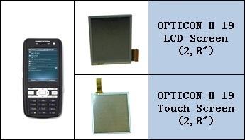 Opticon H19 Lcd Ekran ve Touch Panel degisimi